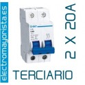 Magnetotérmico 2P 20 A (Terciario)