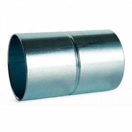 Manguito tubo metalico enchufable 16 mm