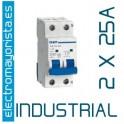 Magnetotérmico 2P 25 A (Industrial)