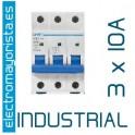 Magnetotérmico 3P 10 A (Industrial)