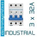 Magnetotérmico 3P 32 A (Industrial)