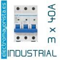Magnetotérmico 3P 40 A (Industrial)