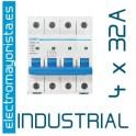 Magnetotérmico 4P 32 A (Industrial)