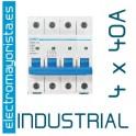 Magnetotérmico 4P 40 A (Industrial)