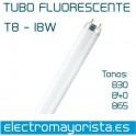 Tubo fluorescente 18 w (Seleccionar Tono)