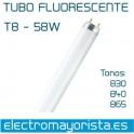 Tubo fluorescente 58 w (Seleccionar Tono)