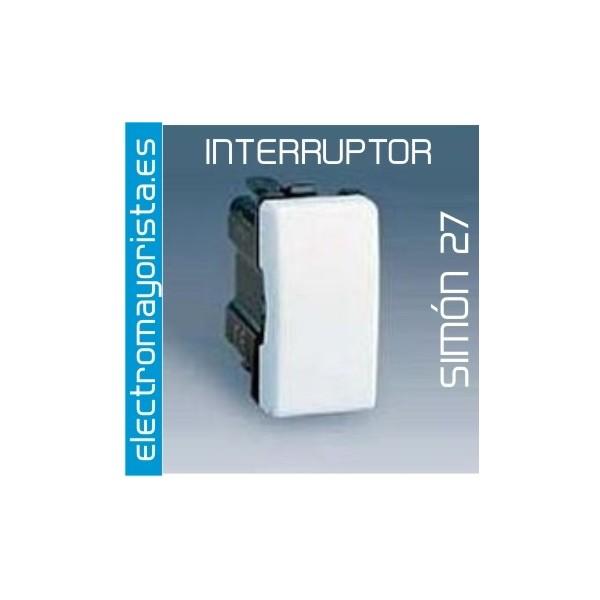 Interruptor sim n 27 tecla estrecha color b - Interruptor simon 27 ...
