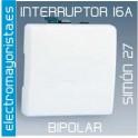 Interruptor Ancho Simón 27 Play Blanco