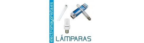 Lámparas, Fluorescentes y bombillas